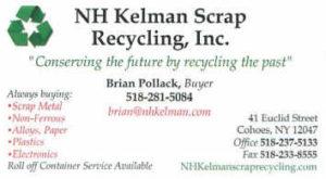 nh kelman scrap recycling